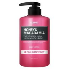 KUNDAL Honey&Macadamia Pure Body Lotion Pink Grapefruit 500ml Moisture K beauty