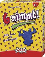 Amigo 4910 6 nimmt lustiges Kartenspiel Familienspiel Gesellschaftsspiel