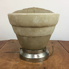 Antique Vintage Sky Scraper Stacking Art Deco Nouveau Ceiling Light Lamp 30s 40s