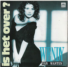 "7"" Vinyl Single Wendy van Wanten  Is het Over?"