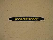 CRATONI HELMETS GENUINE STICKER - BIKE ,CYCLE, MOUNTAIN BIKE, SKI, ROAD