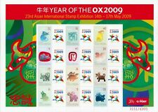 2009 Australia - SES / P-Stamp Sheet - 23rd Asian International Stamp Exhibition