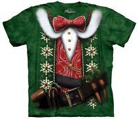 The Mountain Brand Elf Costume North Pole Christmas X-Mas T-Shirt S-5X