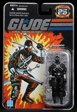 G.I.JOE 25th ANNIVERSARY: SNAKE EYES - COMMANDO 2ND