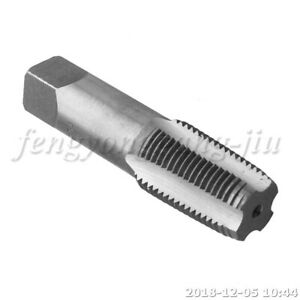 """Pipe Tap  HSS Titanium  1/2"""" NPT for Clean and Chase Rusted Threads"""