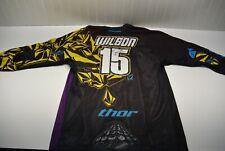 Signed Dean Wilson Volcom Team Practice Jersey Thor Supercross Motocross