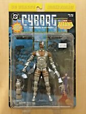 "Dc Direct ""Cyborg"" New Teen Titans Series Action Figure 2001 Super Sculpt!"
