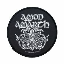 AMON AMARTH - ODIN VIKING - WOVEN PATCH - BRAND NEW - MUSIC BAND 2657
