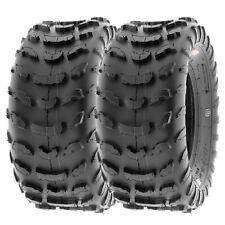 SunF 22x10-10 ATV Tires 22x10x10 Race Tubeless 6 PR A006  [Set of 2]