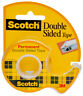 """3M Scotch Double Sided Tape 1/2"""" Wide Photo Safe 137 Permanent Double Stick"""
