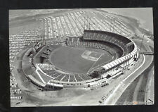 SAN FRANCISCO GIANTS BASEBALL STADIUM CANDLESTICK PARD AERIAL POSTCARD COPY