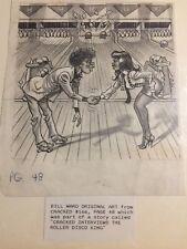 Original Bill Ward artwork from Cracked magazine