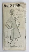 """1960's Vintage Sewing Pattern Pinafore Dress and Blouse Woman's Weekly Bust 38"""""""