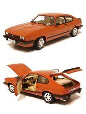 1/18 Norev Ford Capri MKIII 2.8 1978 Pearl Orange Neuf Boîte Livraison Domicile