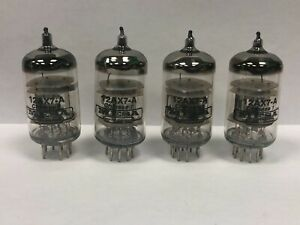 Mesa Boogie 12AX7A ECC83 Chinese Lot of 4 Preamp Vacuum Tubes Used & Tested