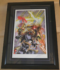 Guardians of the Galaxy Framed Movie Comic Poster by Alex Ross #/250 Stout Gabz
