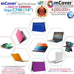 "NEW mCover® Hard Case for 2020 14"" Lenovo Yoga C740 (14) 2-in-1 Laptop"