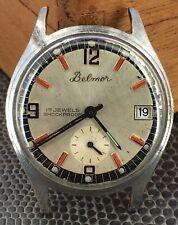 Belmor Fe 233-68 Nicht Funktionstüchtig Für Parts Hand Manuell 31,5 MM Uhren