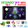 "7"" Android 10.1 2 DIN Autoradio Stereo Bluetooth Wifi GPS USB FM AUX MP5 Player"
