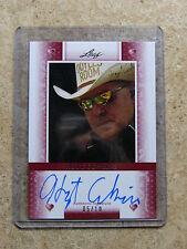 2011 Leaf Razor Poker HOYT CORKINS Heart Red version /10