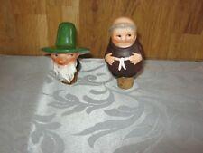 More details for leprechaun & monk bottle stoppers