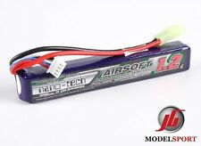 Nano-Tech 1200mah 3 Cell 3S Airsoft Lipo Stick Battery Pack 11.1V  15-25C