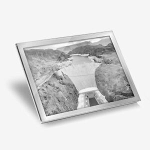 Glass Placemat 20x25 cm - BW - Hoover Dam Nevada USA  #39158