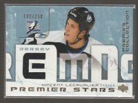 [68548] 2003-04 UD Premier Collection Stars Jerseys #STVL Vincent Lecavalier