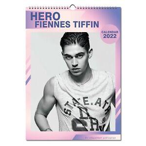 Hero Fiennes Tiffin 2022 Wall Calendar NEW A3 Poster Size 12 Months