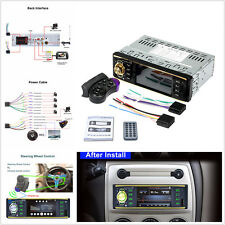 HD Touch Screen 4.1'' Car MP3 MP5 Player Bluetooth Stereo Radio w/Remote Control