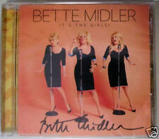 NEW Bette Midler SIGNED Its the Girls! CD SEALED EXCLUSIVE AUTOGRAPHED COPY