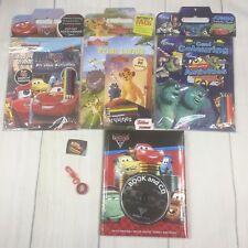 Disney Fun Pack Cars 2 Book & CD + 3 x Activity Packs Cars Lion Guard & More NEW