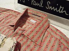 "PAUL SMITH Mens MAINLINE Shirt 🌍 Size 16"" (CHEST 42"") 🌎 RRP £195+ 📮 FLORAL"