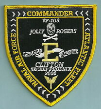 VF-103 JOLLY ROGERS NAVY FIGHTER SQUADRON ATLANTIC FEET COMMAND PATCH
