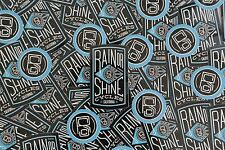 Rain or Shine Cycles sticker pack set decal road fixed gear cyclocross MTB track