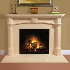 Fireplace Mantel (mantle) Surround shelf Cast Stone non-combustible