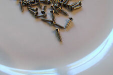 75 NEW STAINLESS STEEL FENDER PICKGUARD SCREWS  FENDER for your guitar build