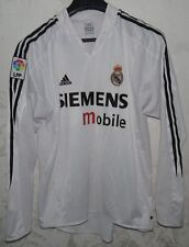 MAGLIA SHIRT JERSEY CALCIO FOOTBALL FUTBOL REAL MADRID SPAIN SZ.L LONG SLEEVES