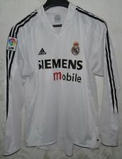 MAGLIA SHIRT JERSEY CALCIO FOOTBALL FUTBOL REAL MADRID SPAIN SZ.XL LONG SLEEVES