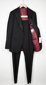 RRP$599 SUITSUPPLY VERONA Men UK42L Wool Tuxedo Slim 2-Pieces Suit 15398_