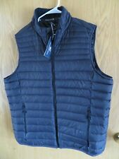 $178+ men's XL VINEYARD VINES black Mountain Weekend DOWN vest, NEW