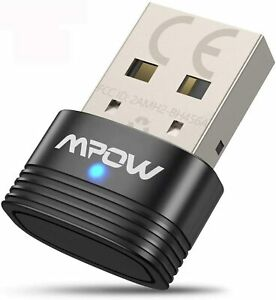 Mpow Bluetooth 5.0 USB Adapter, Bluetooth USB Dongle Stick, Bluetooth