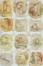 Chromo Le Suh Découpis Beatrix Potter The Tale of Mr Jeremy Fisher 1788