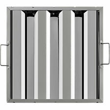 """Commercial Hood Grease Exhaust Filter Baffle 16"""" X 16"""" Stainless Steel 6 Pack"""