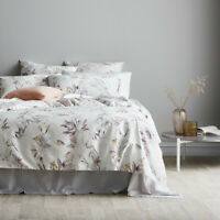 Sheridan Liora Thistle 100% Cotton Sateen Quilt Cover