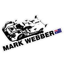 Mark Webber Racing JDM Sticker Decal Car Driver #0606en