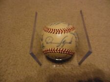 1964 Spokane Minor League Autograph Team Baseball - Ken Rowe Collection