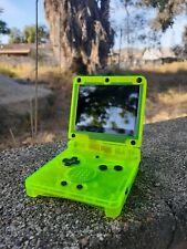 Nintendo Gameboy Advance GBA SP IPS v2 Backlit Mod Extreme Green