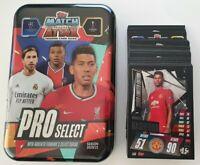 2020/21 Match Attax Pro Select Mega Tin + 100 cards inc Rashford Limited