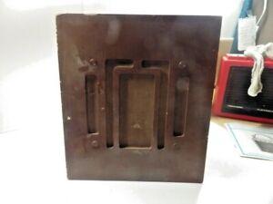 Vintage UTAH MICRO GAP SP8G Intercom Speaker W/ WOOD CASE STROMBERG CARLSON